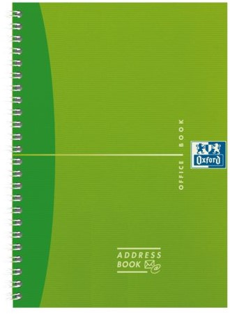 Adresboek Oxford MyColours A6 80vel gelinieerd assorti-2