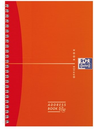 Adresboek Oxford MyColours A6 80vel gelinieerd assorti-5
