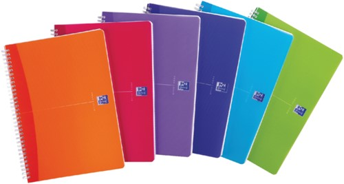 Adresboek Oxford MyColours A6 80vel gelinieerd assorti-4