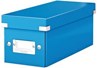 Cd box Leitz Click & Store WOW 143x136x352mm blauw-1