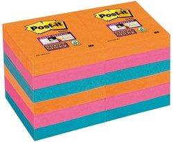 Memoblok 3M Post-it 622-SSEG Super Sticky 47x47mm Bangkok