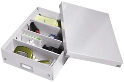 Opbergbox Leitz Click & Store 280x100x370mm wit