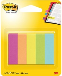 Indextabs 3M Post-it 670/5CA papier ultra 5 kleuren