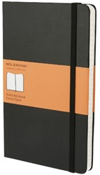 Notitieboek Moleskine large 130x210mm lijn zwart