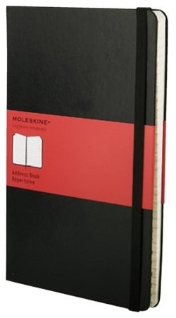 Adresboek Moleskine pocket 90x140mm zwart-2