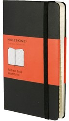 Adresboek Moleskine large 130x210mm