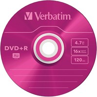 DVD-R Verbatim 4,7GB 16X Colour 5stuks-3