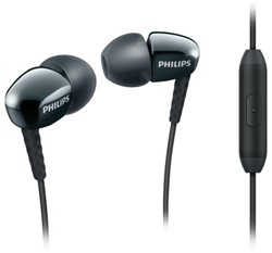 Oortelefoon Philips in ear SE3905B zwart