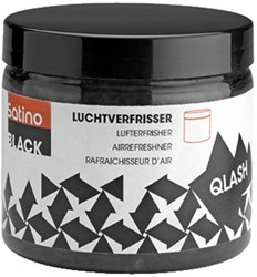 Luchtverfrisser Satino Black navulling Qlash 6x225ml