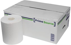 Poetsrol PrimeSource Midi 1laags 275mx21,5cm wit 6rollen