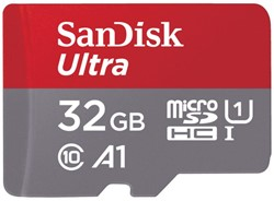 Geheugenkaart Sandisk Micro SDXC Class10 Android 32GB