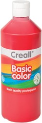 Plakkaatverf Creall basic 06 donkerrood 500ml