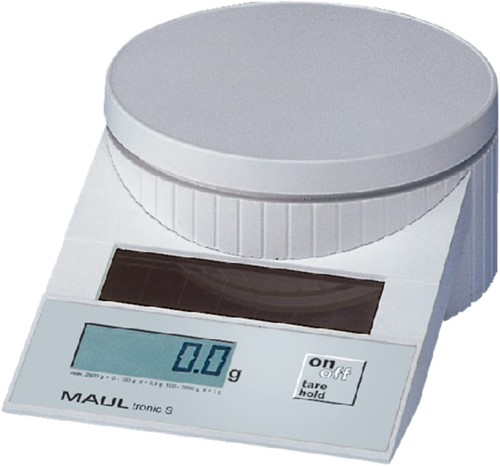 Briefweger Maultronic 1515002 tot 5000gram wit