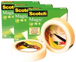 Onzichtbaar plakband Scotch Magic 810 12mmx33m