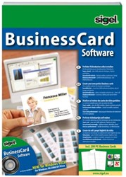 Software Sigel Businesscard tbv visitekaart meertalig