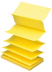 Memoblok 3M Post-it Z-Note R350 76x127mm geel