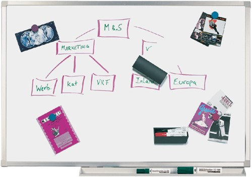 Whiteboard Legamaster Professional 90x120cm magnetisch email