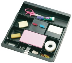 Bureaulade organizer 3M Post-it C71 xwart