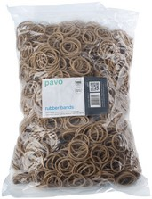 Elastiek 100x1.5mm zak/1000gr