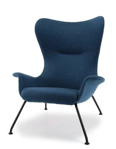 Lounge fauteuil Nevada in wolfilt
